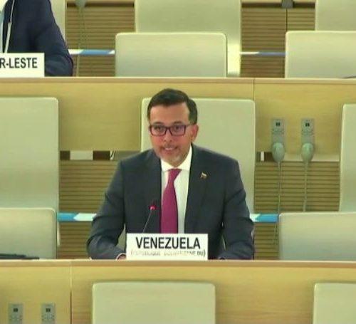Gobierno venezolano exige ante la ONU el levantamiento de sanciones