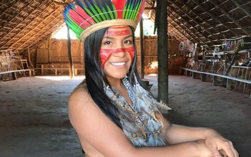 Cunhaporanga: la indígena brasileña que es viral en TikTok mostrando sus costumbres