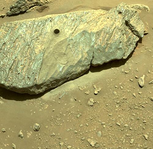 """La Nasa confirma que el """"rover Perseverance"""" obtuvo un fragmento de roca de Marte"""