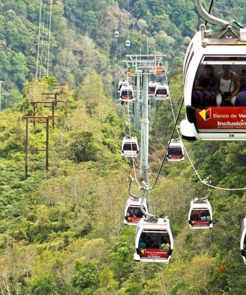Teleféricos de Caracas y Mérida se encuentran operativos para recibir turistas