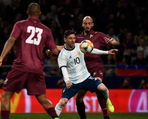 Venezuela se enfrenta a Argentina en el estadio de la UCV en eliminatorias de Qatar 2022