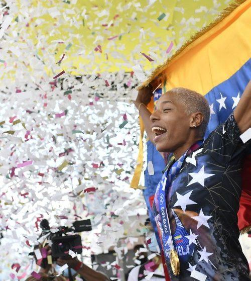 Yulimar Rojas desea participar en dos pruebas de atletismo en París 2024