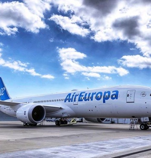 Aerolínea Air Europa realizará vuelos especiales Caracas-Madrid próximamente