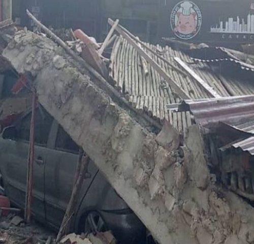 Caracas: Desplome del techo de reconocido restaurante en Baruta dejó un herido