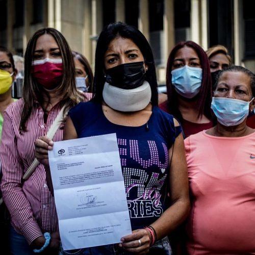 Caracas: Mujeres del Comando de Campaña de la Unidad denunciaron agresión por militantes de Antonio Ecarri