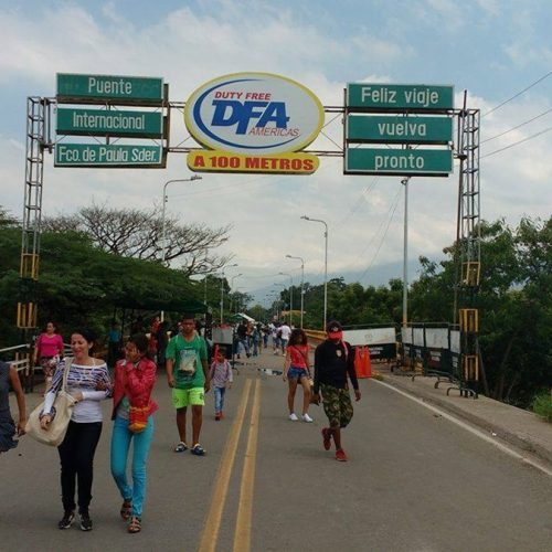 Cambio comercial con Colombia se realizará por Puente Francisco de Paula Santander