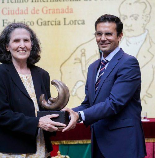 Poeta venezolana Yolanda Pantín recibe el XVII Premio Lorca