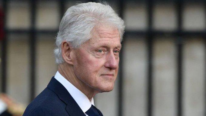 Bill Clinton fue dado de alta tras sufrir infección en tracto urinario