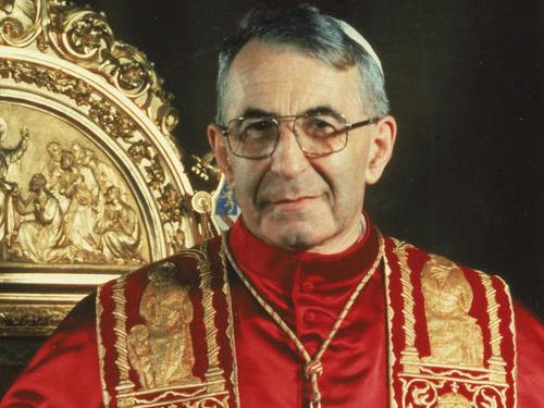Papa Francisco anunció la beatificación de Juan Pablo I