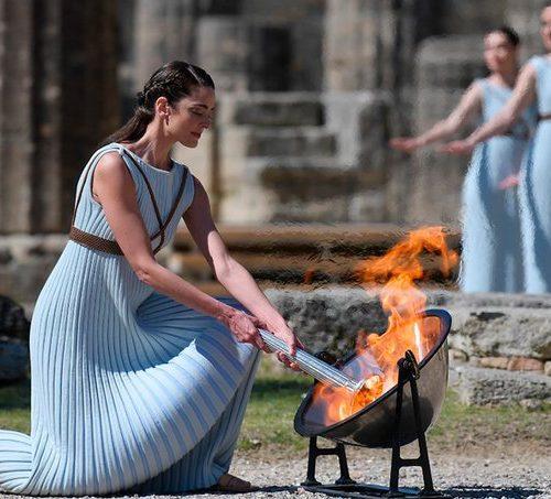La llama olímpica de Pekín2022 se encenderá sin público en Grecia